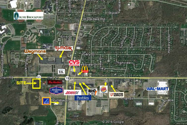 Fourth Section Road, Brockport, NY - Available Land For Sale