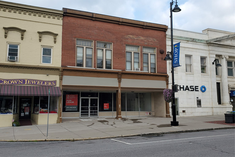 134 South Main Street, Canandaigua, NY - Available Retail Space For Lease