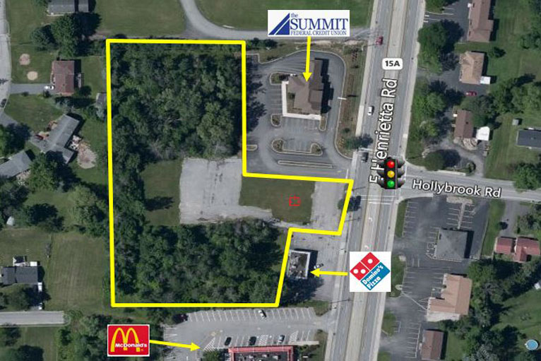 East Henrietta Road , Rochester, NY - Available Land For Lease