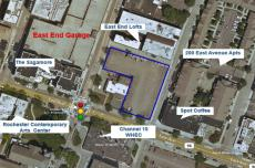Rochester Land For Sale - 182 East Avenue, Rochester, NY