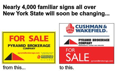 Pyramid Brokerage Company new sign