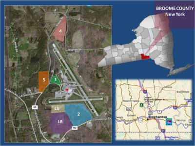 Greater Binghamton Airport Development Sites